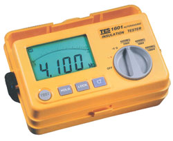 Click image to enlarge - Autoranging Insulation Tester